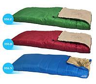 Спальник одеяло Abarqs K-950 цвет синий Спальный мешок, фото 1