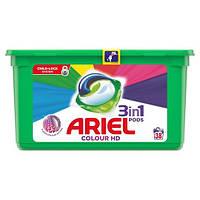 Гель-капсулы для стирки Ariel 3in1 Для цветного белья, 38 шт