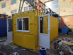 Морський 20-футовий контейнер-побутівка, фото 2