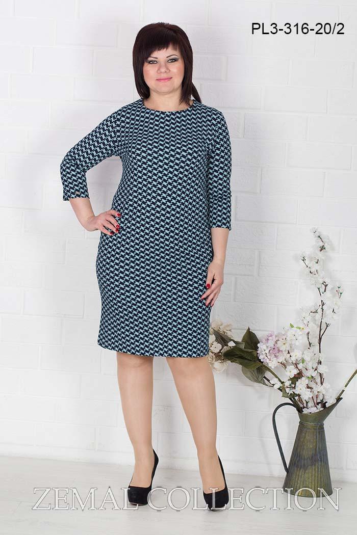 Сукня PL3-316 великі розміри