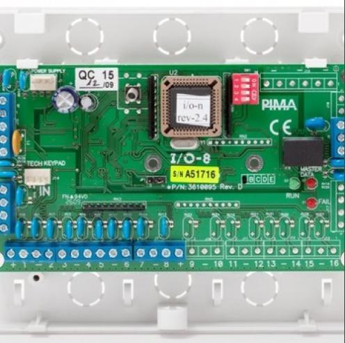 І / О - 8 розширювач на 8 шлейфів (зовнішній)