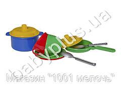 Набор посуды Маринка №3. 10 предметов. Технок 0700