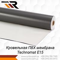ПВХ мембрана для кровли Technomat E15 толщиной 1,5 мм
