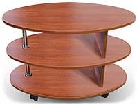 Стол журнальный 2 с овальной столешницей