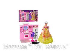 Мебель Кухня с куклой и аксессуарами. 68024