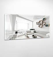Прямоугольное зеркало без подсветки с фацетом