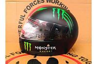 Шлем-интеграл BLD-825 Monster Energy черный, фото 1