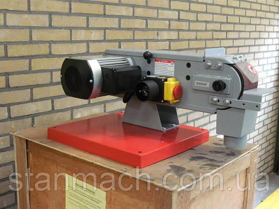 Ленточная шлифовальная машина по металлу Holzmann MSM 100L 380В, фото 2
