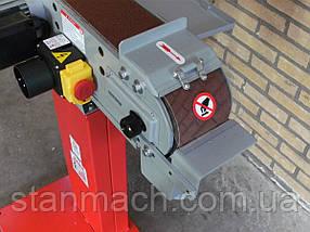 Ленточная шлифовальная машина по металлу Holzmann MSM 100L 380В, фото 3