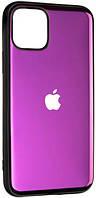Панель Gelius Metal Glass Case для Apple iPhone 11 Pro Violet