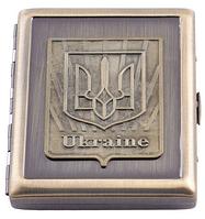 Портсигар AM002 с украинской символикой