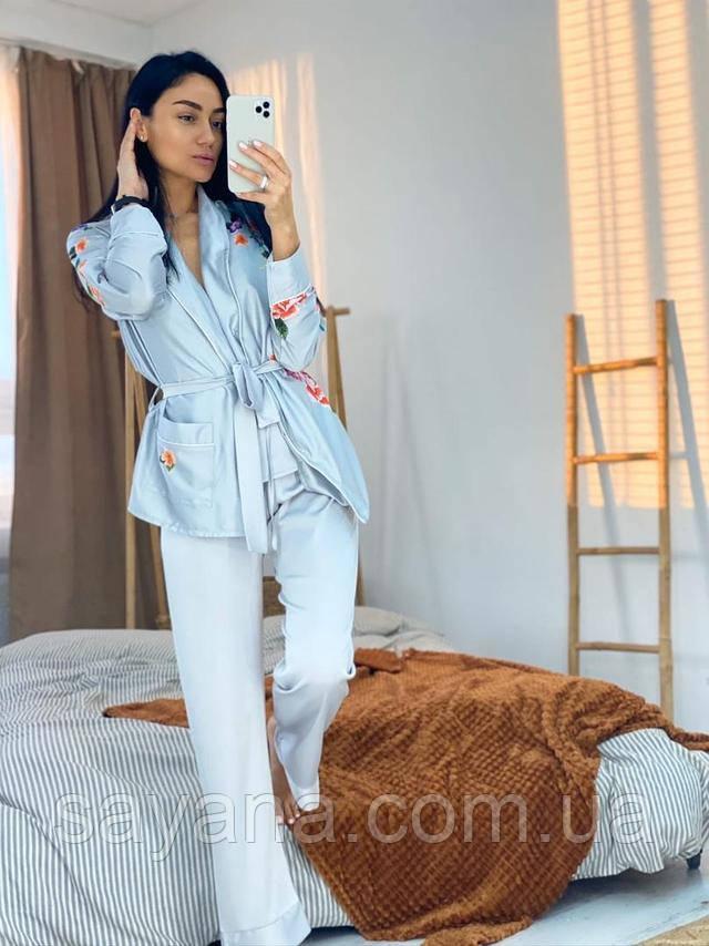 домашний костюм-пижама оптом