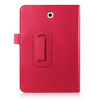 Кожаный чехол книжка для Samsung Galaxy Tab S2 8.0 красный, фото 1