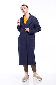 Длинное женское пальто, размер 42-50