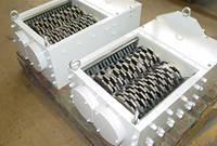 Шредер №4 двухвальный 350x350 мм