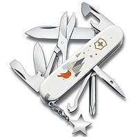 Швейцарский нож Victorinox Super Tinker Winter Magic SE 91 мм 14 функций Белый (1.4703.7E1)