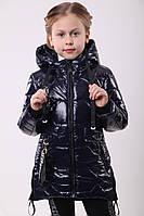 Куртка для девочки на весну от производителя   32-42  Синий