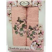 Подарочные наборы полотенец.Банные полотенца для ванны,  полотенеца для дома,140х70 см махра.