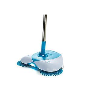 Механическая щётка веник швабра для уборки пола Hurricane Spin Broom, веник для уборки, фото 2