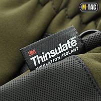 Перчатки Soft Shell Thinsulate Olive, фото 7
