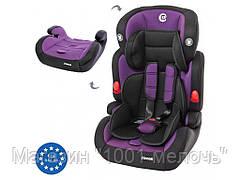 Автокресло детское 2в1. EL CAMINO ME 1008 JUNIOR Purple
