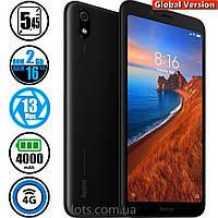 Смартфон Xiaomi Redmi 7A 2/16GB Black (Global Version) + Подарок Защитное Стекло