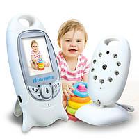 🔝 Беспроводная видеоняня с термометром VB601 камера наблюдения за ребенком с доставкой по Украине 🎁%🚚