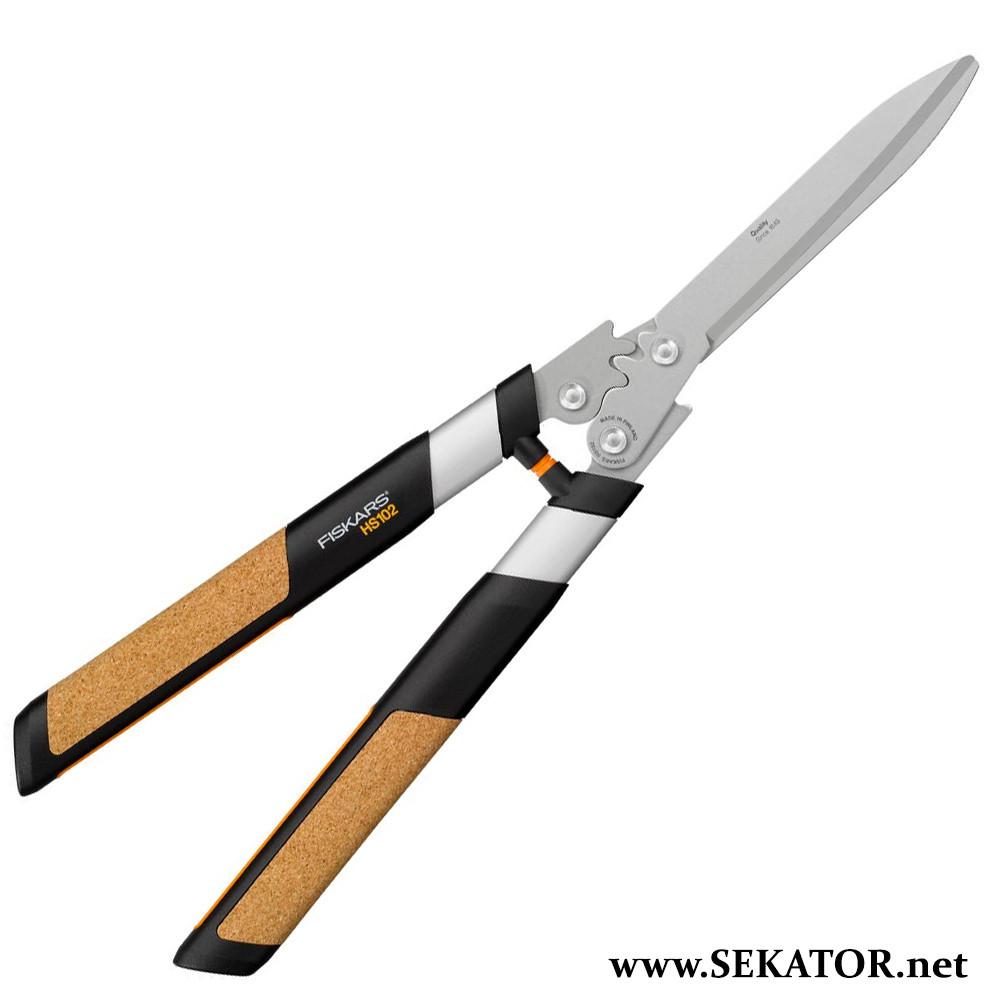 Ножиці для кущів Fiskars / Фіскарс Quantum 114820