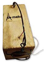 """Мышеловка """"Норка"""" на одно отверстие, ловушка для мышей с 1 отверстием деревянная механическая"""
