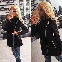 Стильное женское стеганное пальто Nelly j-31022