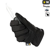 Перчатки Soft Shell Thinsulate Black, фото 2