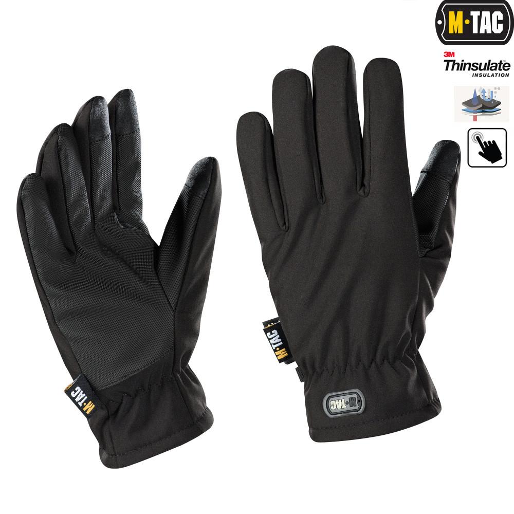 Перчатки Soft Shell Thinsulate Black
