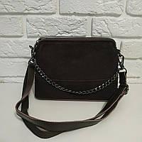 """Женская кожаная сумка """"Мира Black"""", фото 1"""