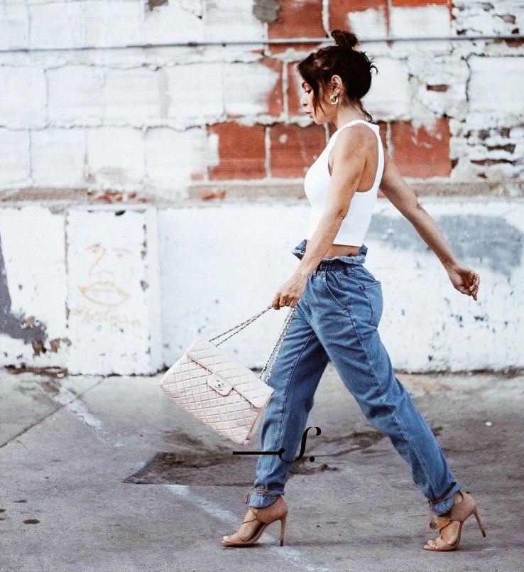 Свободные джинсы багги с высокой талией джинсы baggy oversize