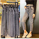 Свободные джинсы багги с высокой талией джинсы baggy oversize, фото 5