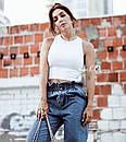 Свободные джинсы багги с высокой талией джинсы baggy oversize, фото 6