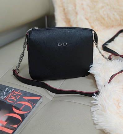 Женская сумка кросс-боди из экокожи 23*18*8 см, фото 2