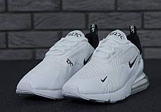 Женские кроссовки в стиле Nike Air Max 270 White, фото 2