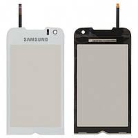 Touchscreen (сенсорный экран) для Samsung S8000 Jet/ S8003, оригинальный (белый)