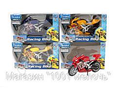 Мотоцикл пластмассовый 10.5 см. Teama 10642