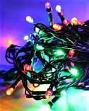 Гирлянда 100LED (СП) 9м Микс (RD-7138), Новогодняя бахрама, Светодиодная гирлянда, Уличная гирлянда, фото 2