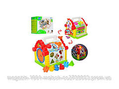 Теремок-сортер 22-23 см. Limo Toy 9196