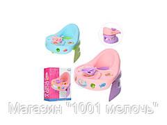 Кукольный стульчик для кормления на батарейке. Baby table WZJ019B-1-2