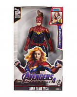 Фигурка коллекционная  Мстители: Капитан Марвел , в маске