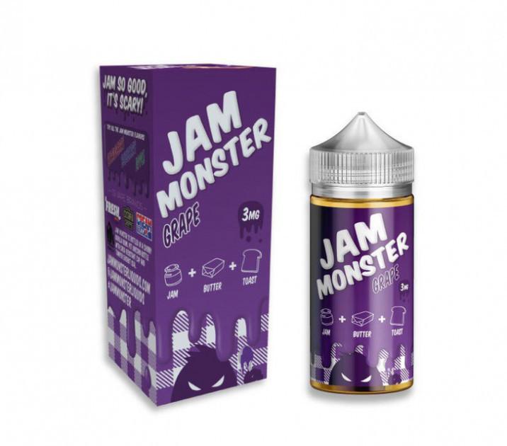 Жидкость Jam Monster 3 мг 100 мл Виноград