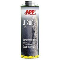 Распыляемая масса для защиты кузова от ударов камнями  APP U100 UBS 1л черный