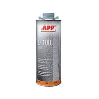 Распыляемая масса для защиты кузова от ударов камнями  APP U100 UBS 1л серый