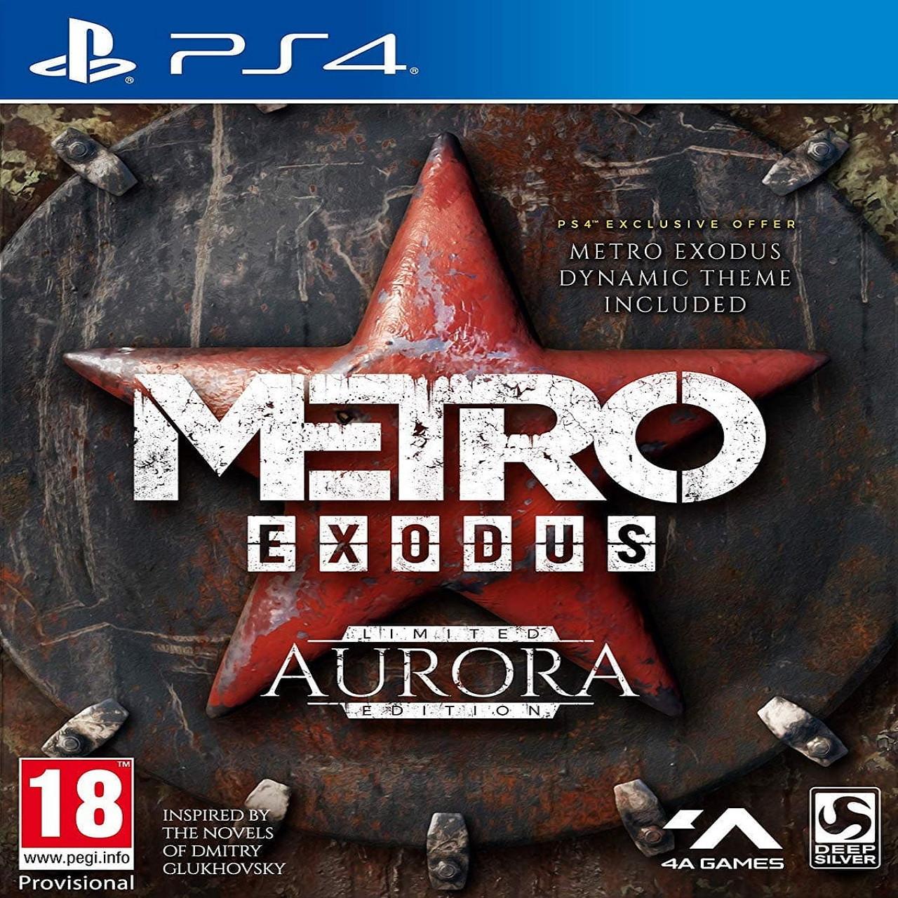 Metro Exodus Aurora Limited Edition (російська версія) PS4