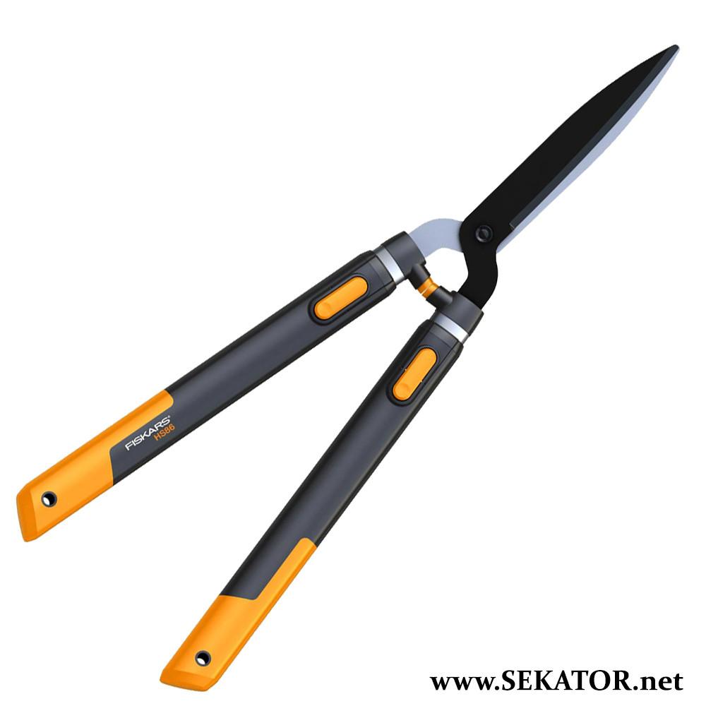 Телескопічні ножиці для кущів Fiskars / Фіскарс SmartFit 114800
