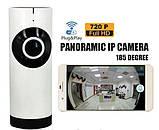 Панорамная беспроводная IP камера видеонаблюдения настольная Camera CAD-1315 Wifi, фото 3
